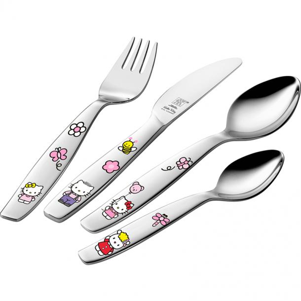 Zwilling børnebestiksæt Hello Kitty 4 dele